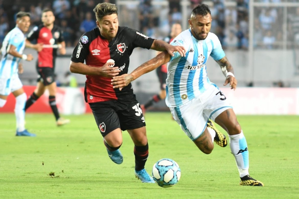 Racing 1-1 Newell's: La Lepra refuse to be pushed over in Avellaneda