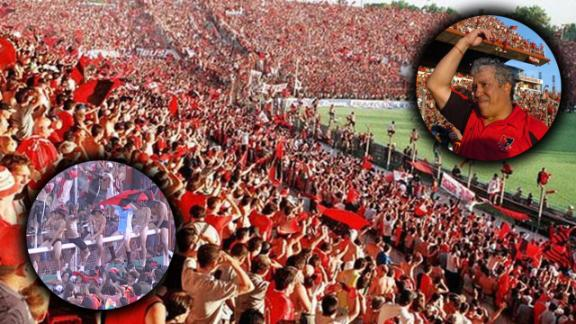 Newell's brought 40,000 fans to Avellaneda for the final game of their title-winning campaign in 2004.