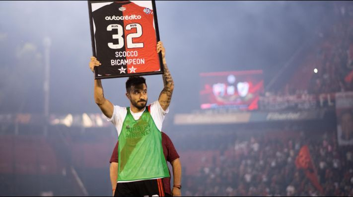 Ignacio Scocco returns to Newell's Old Boys