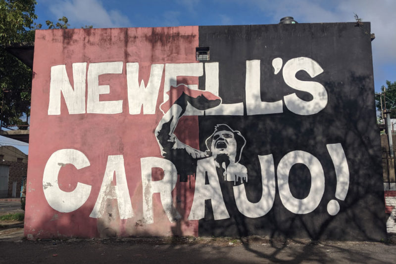 What does (Vamos) Newell's Carajo mean and why is it associated with Marcelo Bielsa?