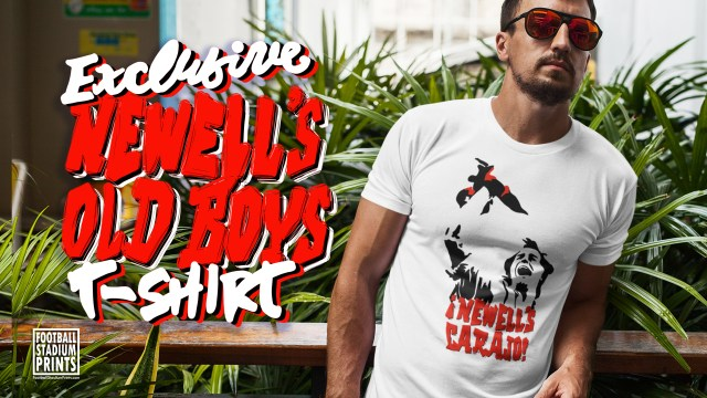 Exclusive Newell's Carajo T-shirt