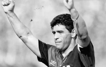 Maradona of Newell's Old Boys