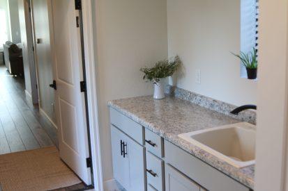 Modern Farmhouse Laundry Room Nappanee Michiana Homes Scaled