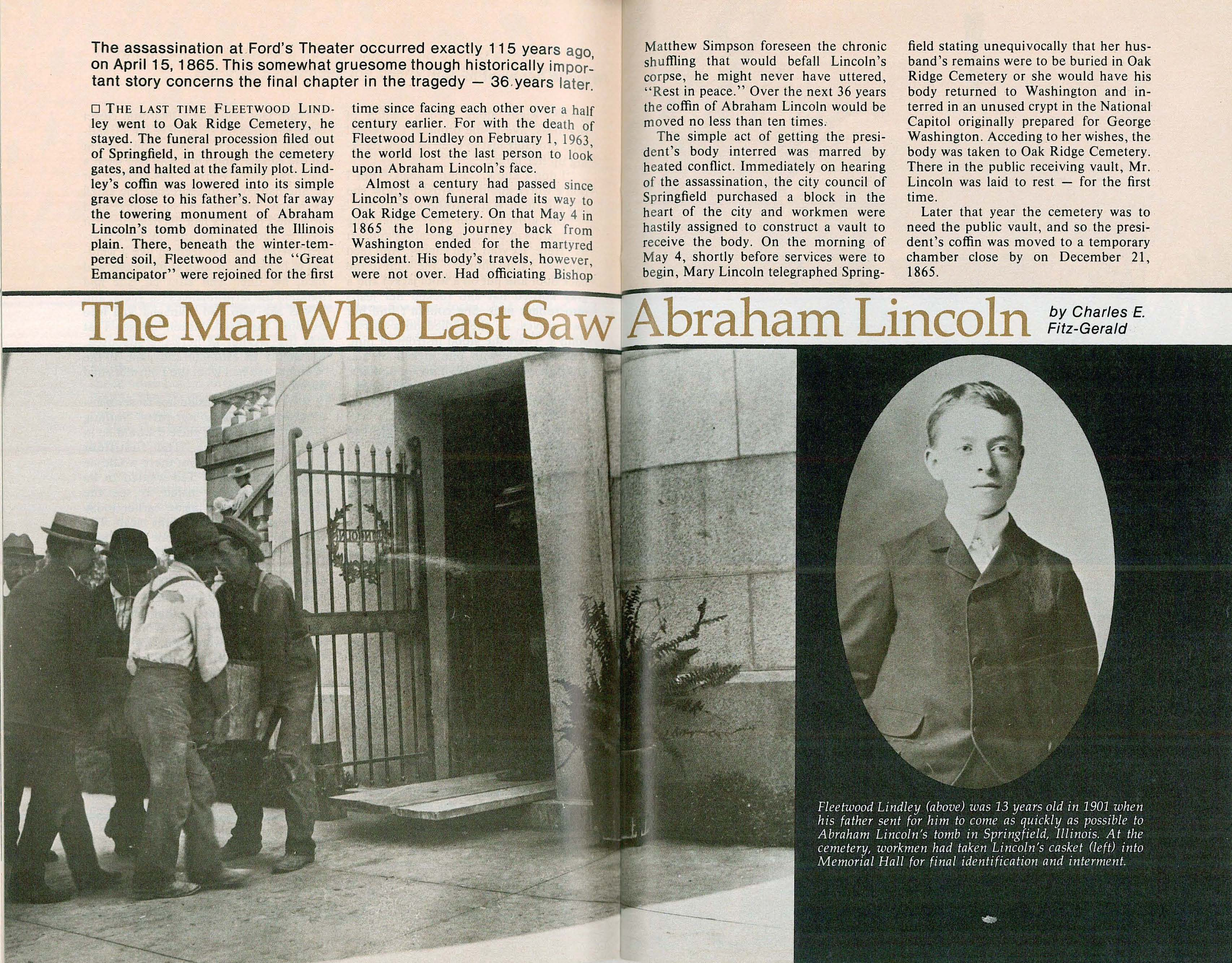 The Final Resting Place Of Abraham Lincoln