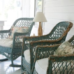 Antique Wicker Chairs Velvet Dining And Table Furniture New England S Gifts Today Looking Out Toward The Nearby Barns Mountains Vintage Rocking Grace Porch
