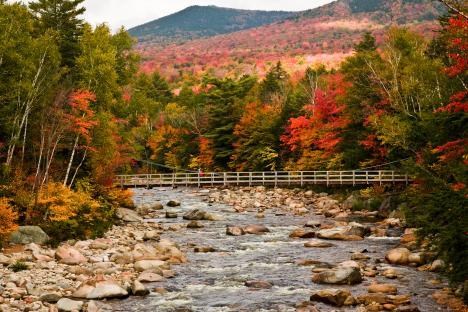 Mystic Falls Wallpaper Kancamagus Highway New Hampshire 50 Anniversary