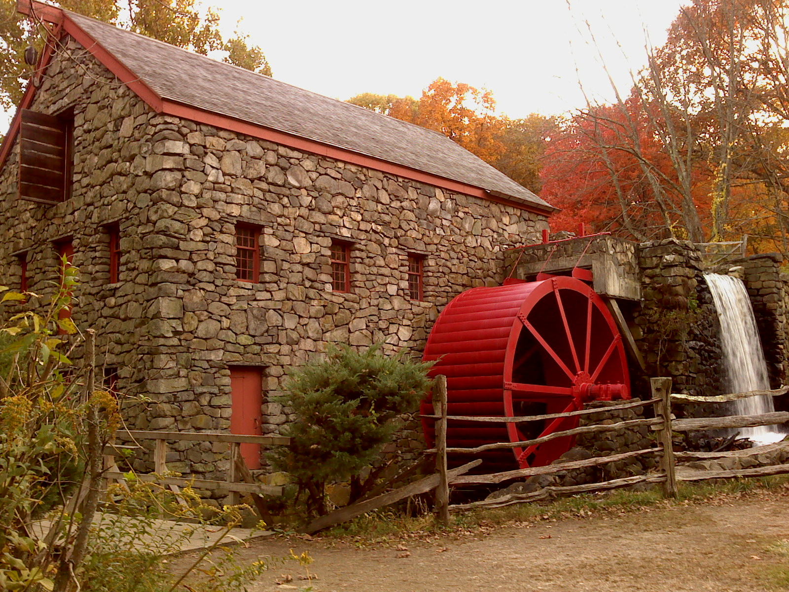 The Wayside Inn Grist Mill  Photos  New England Today