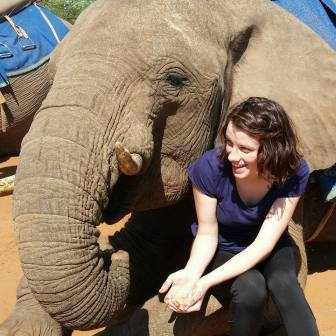 Hanging with elephants in Zambia