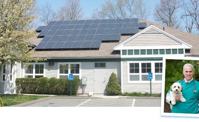 Acorn Animal Hospital New England Clean Energy