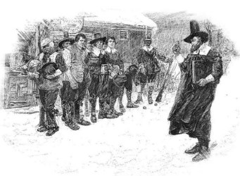 We Won t Go Until We Get Some: New England Colonial Christmas Traditions New England Historical Society