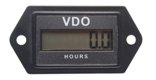 small resolution of vdo rectangular re settable lcd hourmeter 331 535