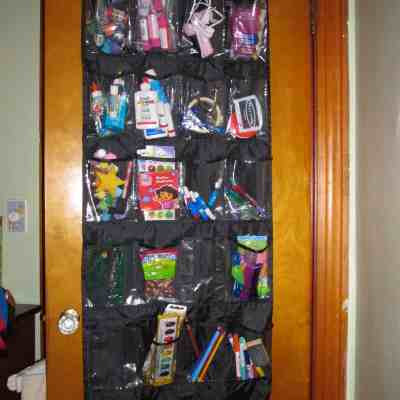 Over-The-Door Craft Organizer