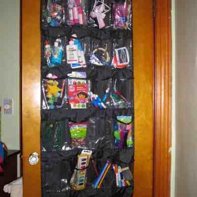 Over-The-Door Craft Organizer
