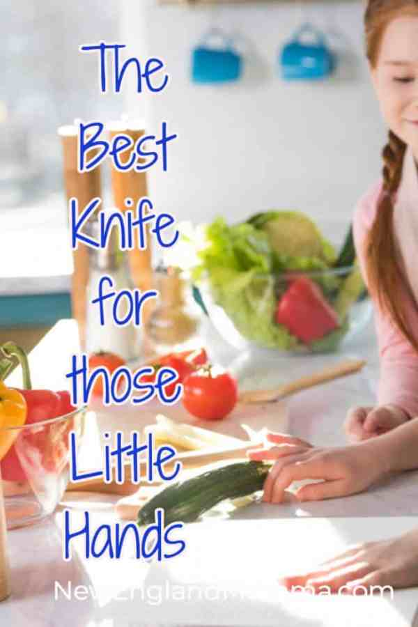 This knife is great for small hands that want to help in the kitchen