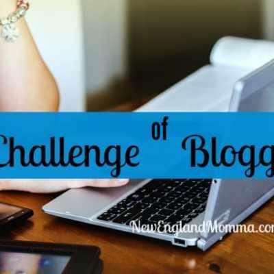 The Challenge of Blogging