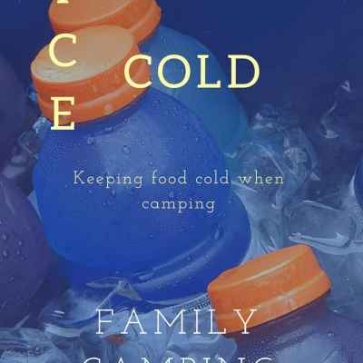 Keeping Food Ice-Cold when Camping