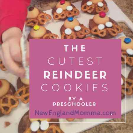 Enable the help of your child to make the cutest reindeer cookies for a kid get together