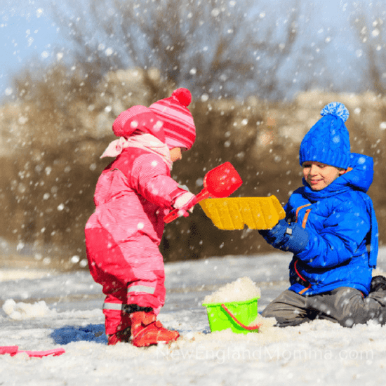The winter may seem long but it won't last! Here is my 7 Must-Do Kid-Required Activities to do before the snow melts! Easy & fun to do at home!