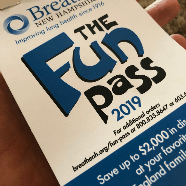 A picture of the Fun Pass coupon book