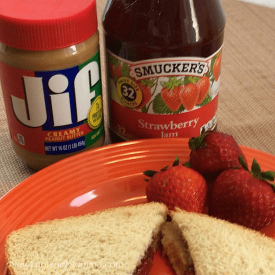 Moms can feel good about giving PB&J in their child's lunchbox because it not only tastes great, your kids will love it and fills them up for the rest of the school day!