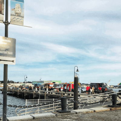 Family Trip to New London + Food Truck Festival