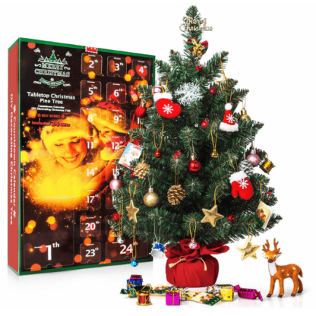 Counting down to Christmas is so exciting for kids! Help them countdown the days with one of these unique Advent Calendars. #AdventCalendar