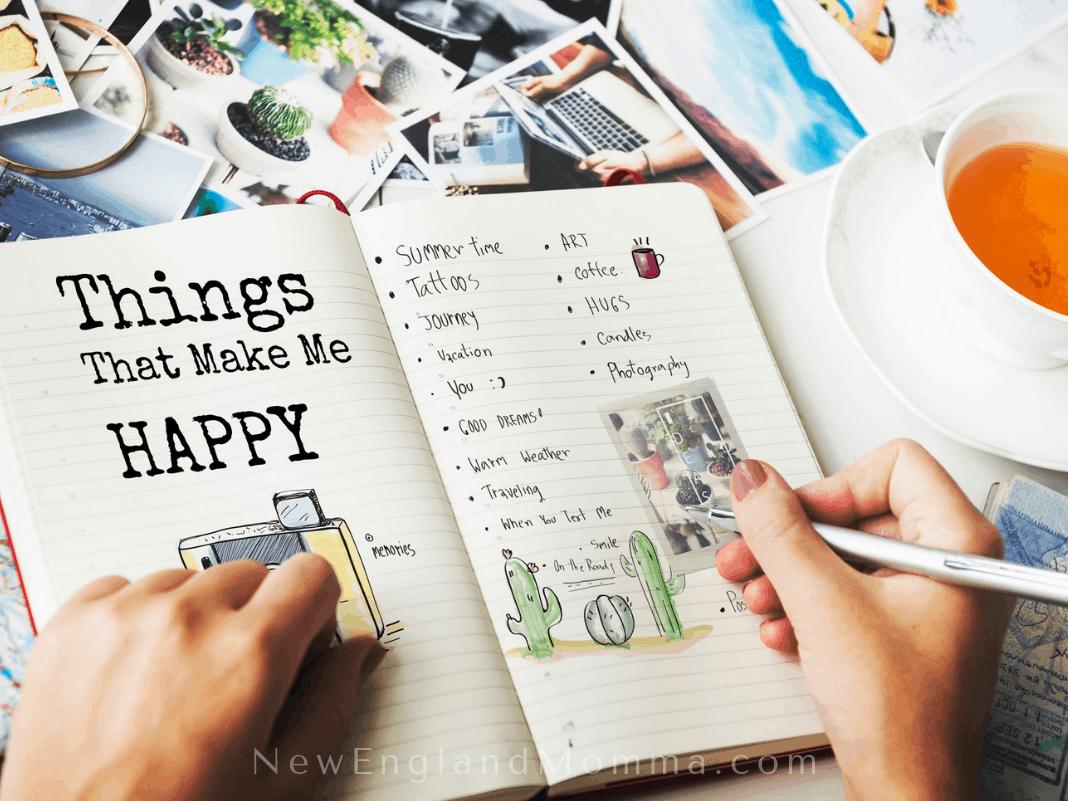 making a list of fun ideas for summer