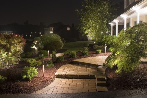 landscape lighting - england