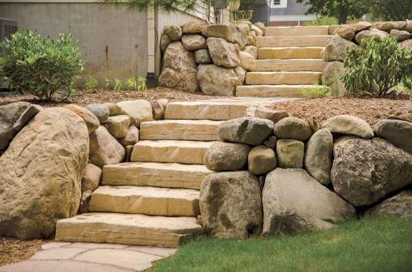 granite & stone steps - england