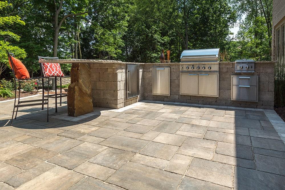 Unilock Interlocking Pavers  Retaining Walls  New England Silica Inc