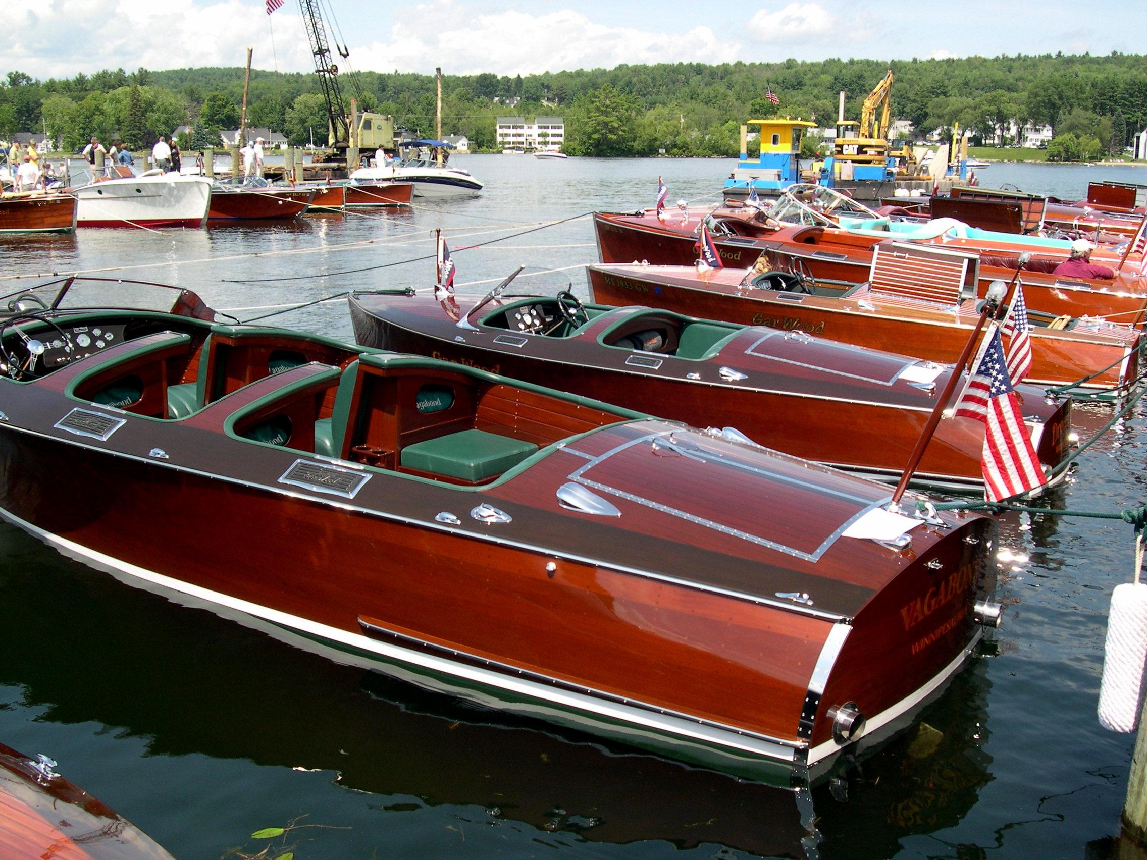 Meredith NH, Boat Show