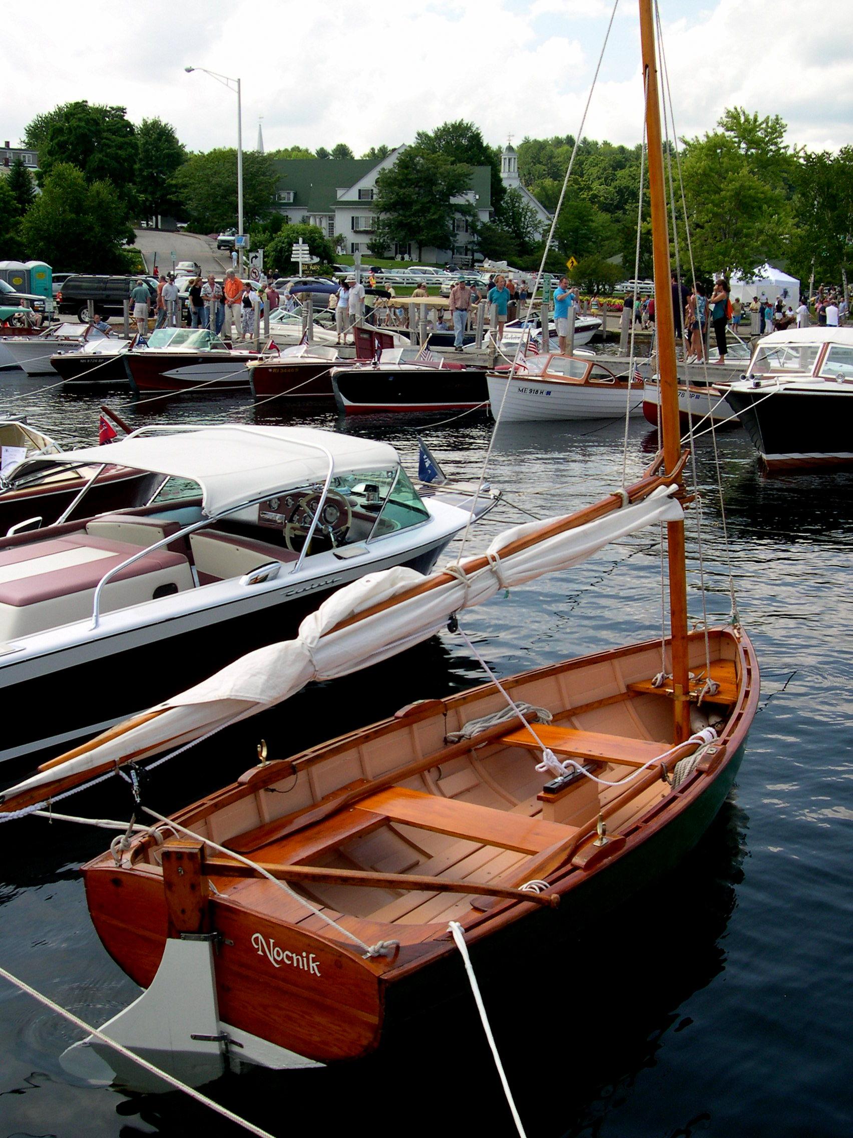 Little Wooden Sailboat