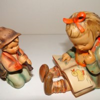 Two Hummel Figurines From My Mother's Collection