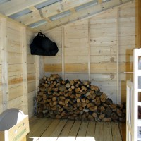 My New Wood Shed