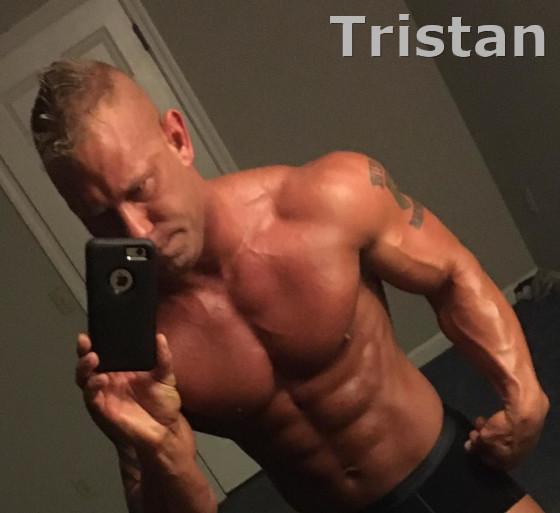 male exotic dancers Tristan