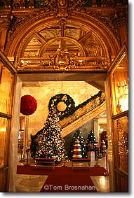 Christmas in Newport Rhode Island
