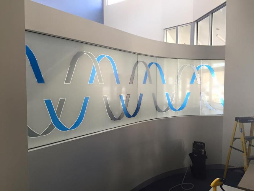 Custom Printed Films Gives Client the Desired Statement - The Benefits Decorative Window Films Can Bring To Your Office - Decorative Window Films in Boston Massachusetts