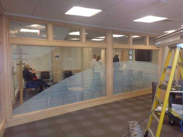 Hospital Uses Decorative Window Film to Compliment Decor 3