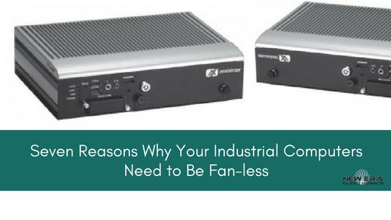 fanless computer industrial