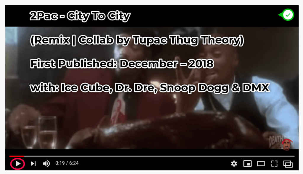 2Pac – City To City