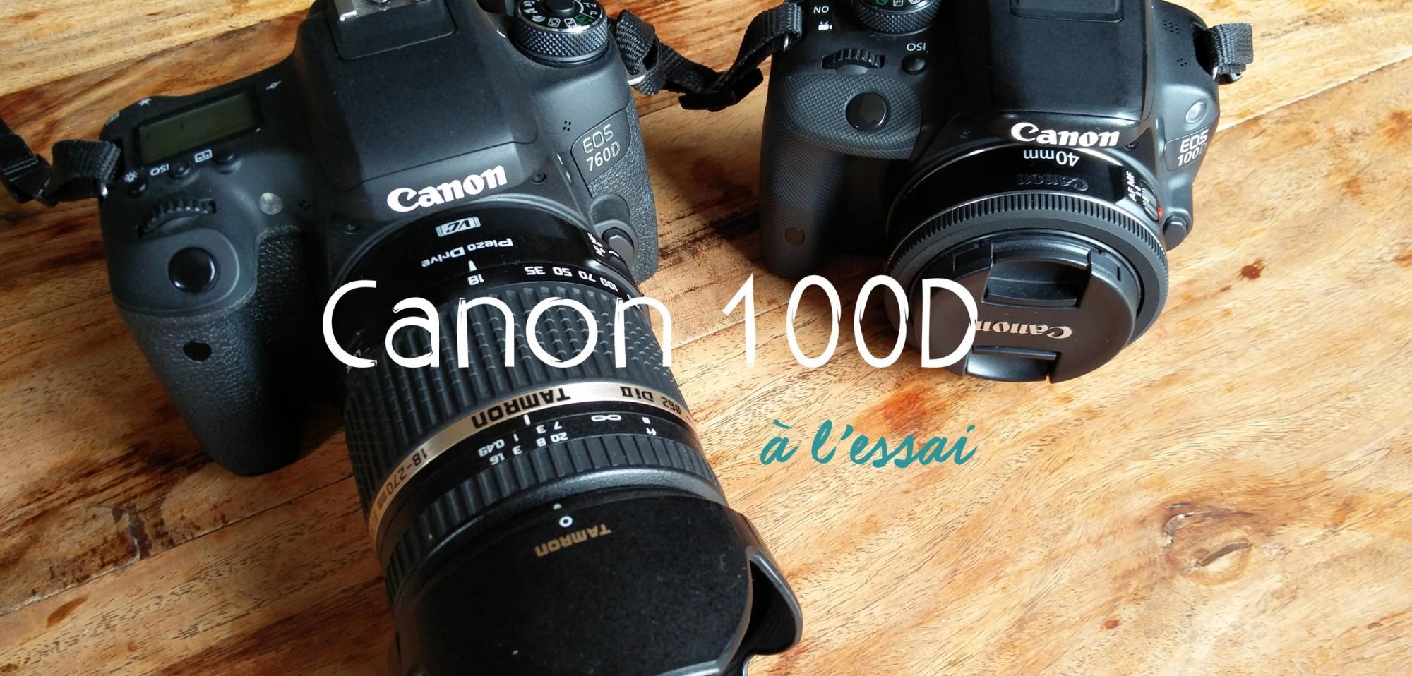 Canon 100D, un reflex pour le voyage