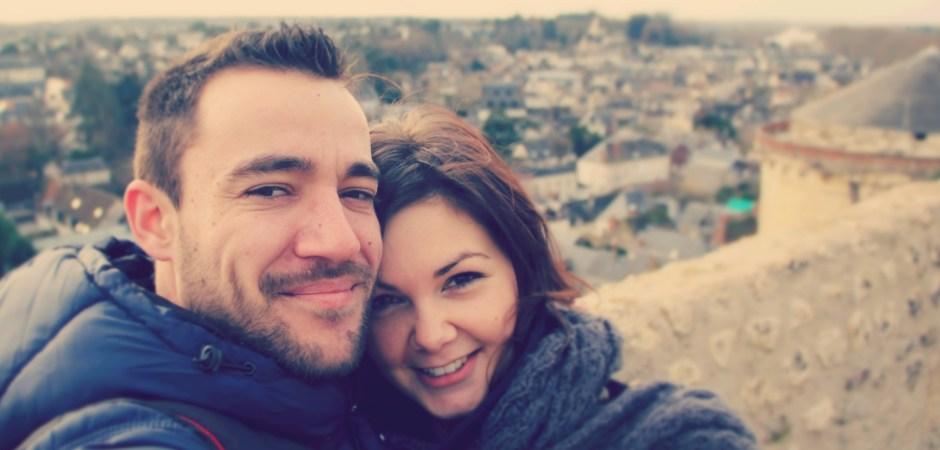Visite d'Amboise et de son château, décembre 2012.