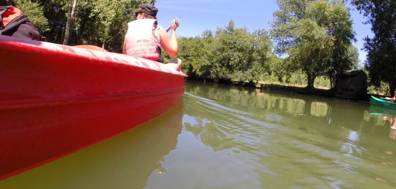 Lucie sur les flots de l'Indre