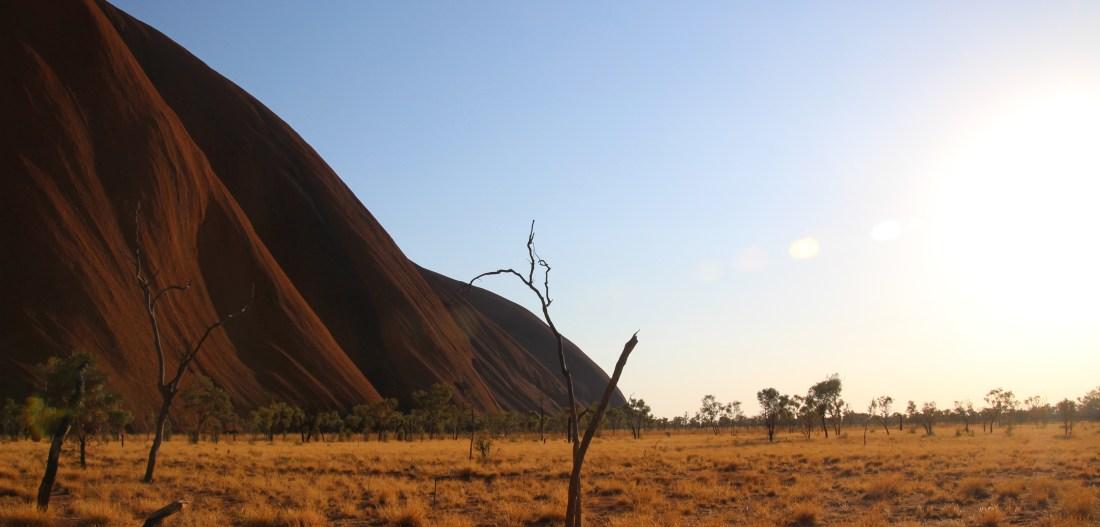 Randonnée autour du rocher sacré