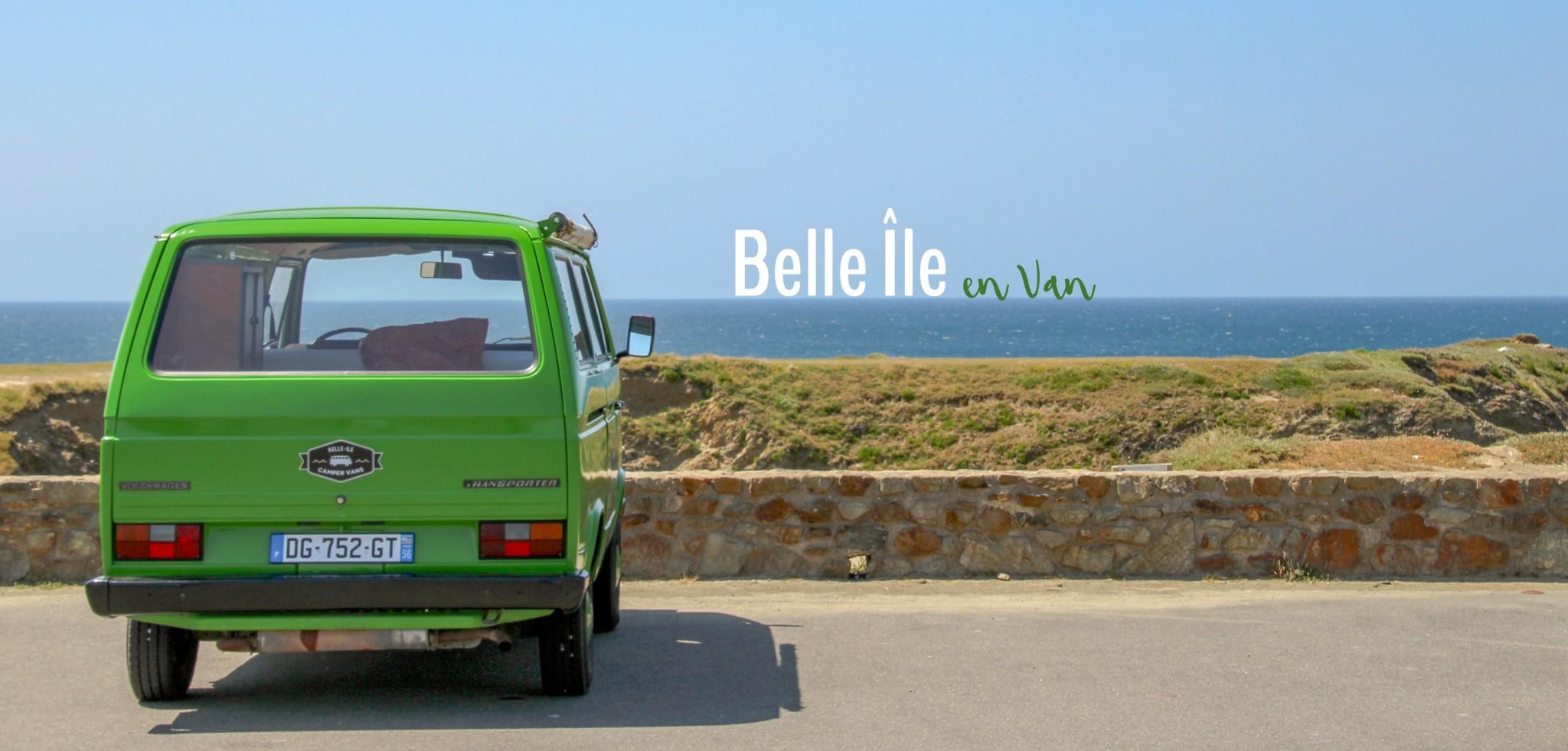 5 bonnes raisons de découvrir Belle île en van