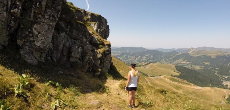 ascension du Plomb du Cantal