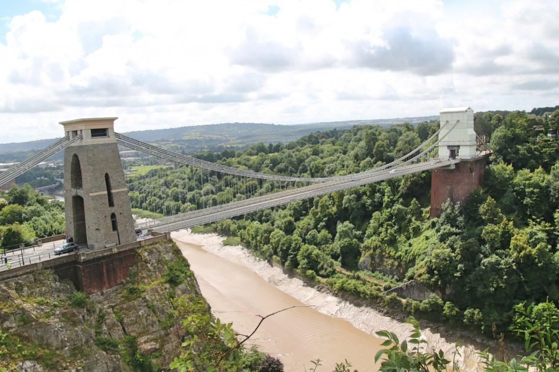 Le pont suspendu à Clifton