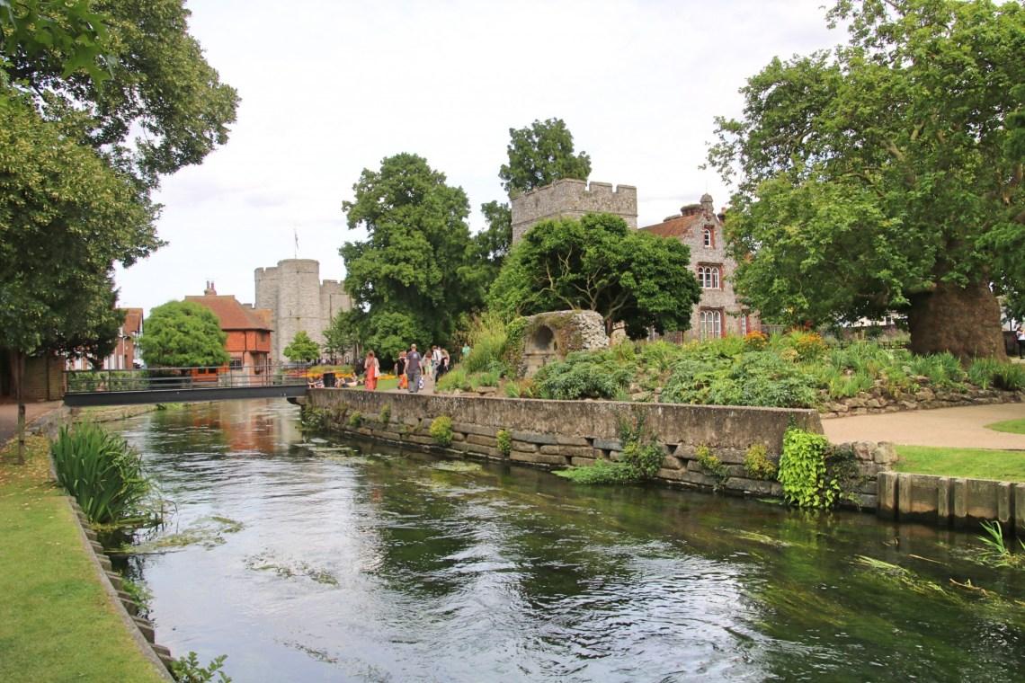Promenade dans les Westgate Gardens de Canterbury