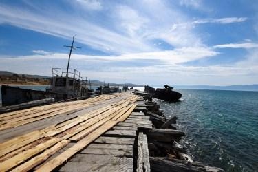 Quai du port de Khoujir @neweyes