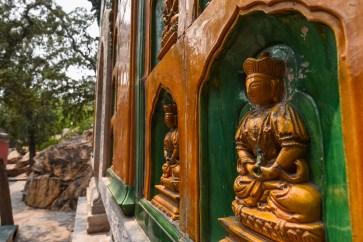 Temple bouddhiste au Palais d'été de Pékin.